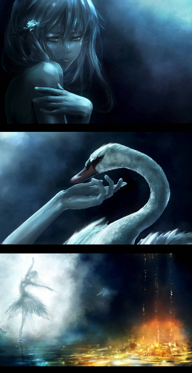 Black Swan by Umika-Sayoji