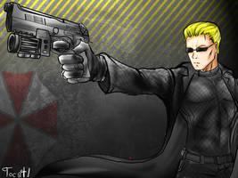 wesker gun by Tocatl