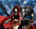 red riding hood cyberpunk