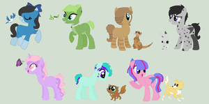 Pony And Pet Adoptables by MagicalAdoptables