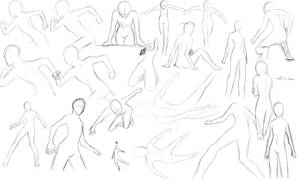 Bunch of poses- 1