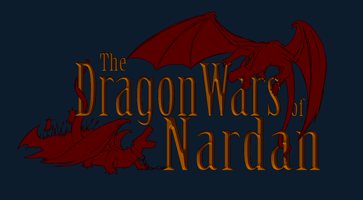 The DragonWars of Nardan Logo by ICLHStudios