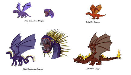 Dragonwars concepts