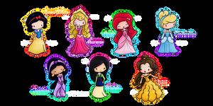 Disney Princesses :3