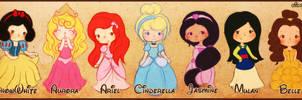 Disney Princesses Revamp 2013 by elicoronel16