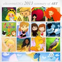 2013 Summary of Art by elicoronel16