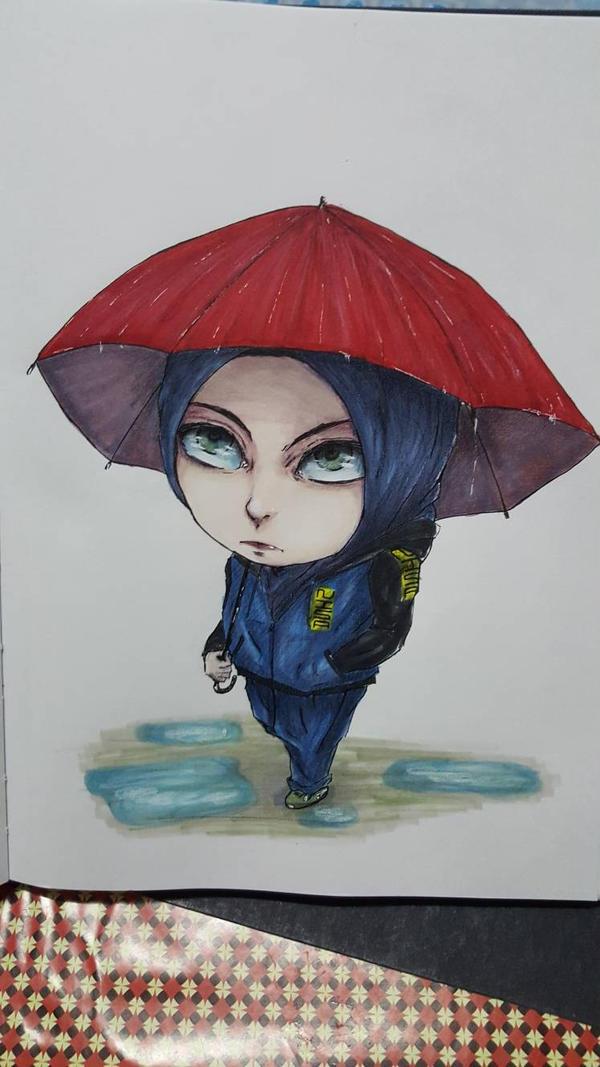 Under an Umbrella by nisazzz