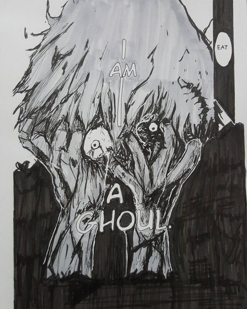 Kaneki Ken Ghoul by nisazzz