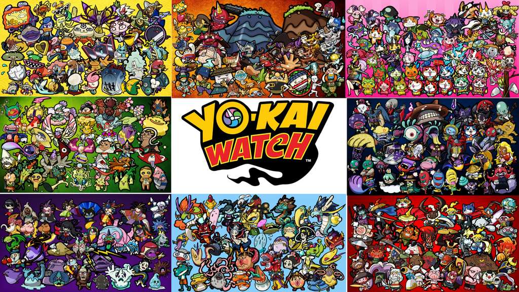 yo kai watch all the tribes by endore050 on deviantart