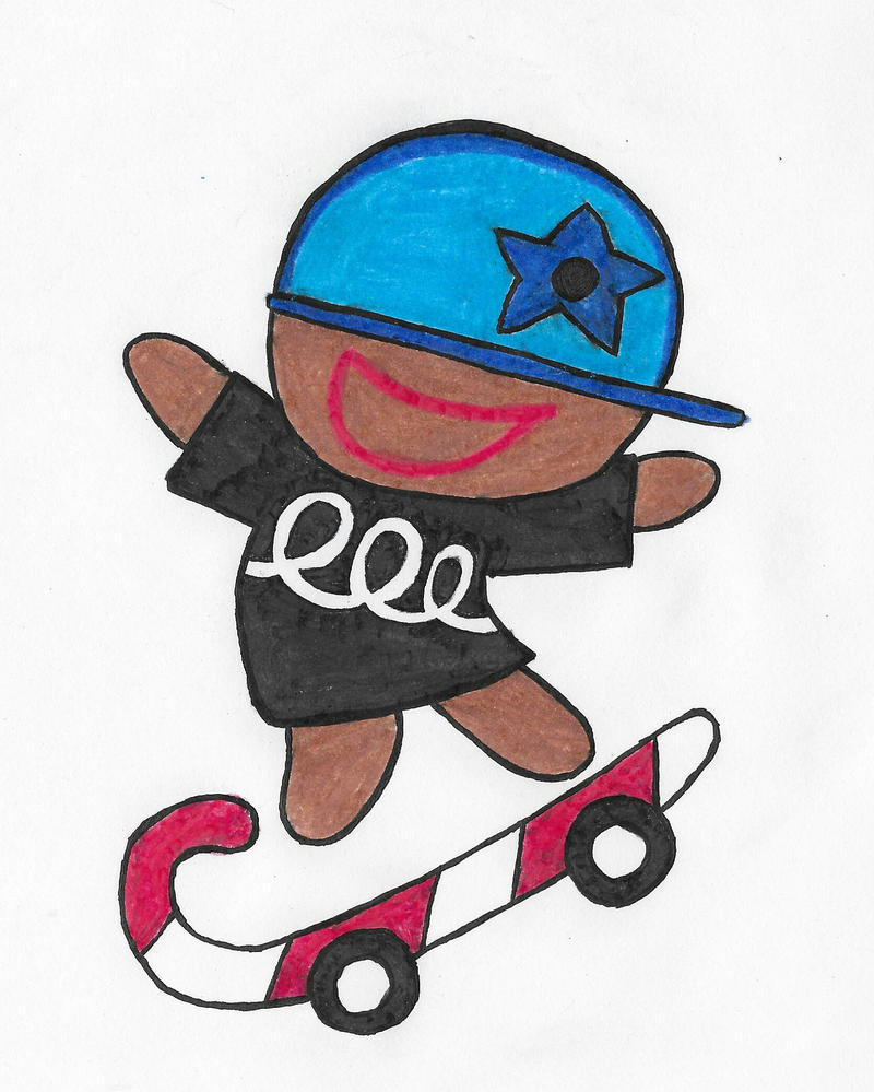 Cookie Run (Skateboarder Cookie) by ENDORE050