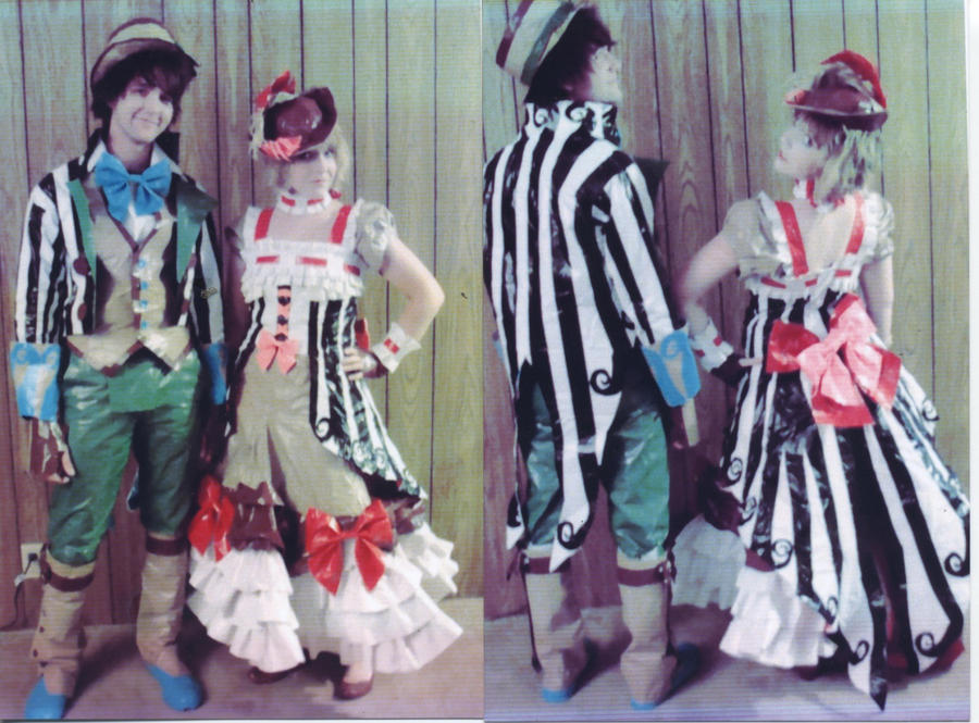 Duct Tape Prom 09 by UnderCoverCottonswab on DeviantArt