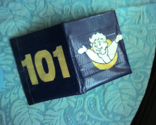 Vault 101 Duct Tape Wallet