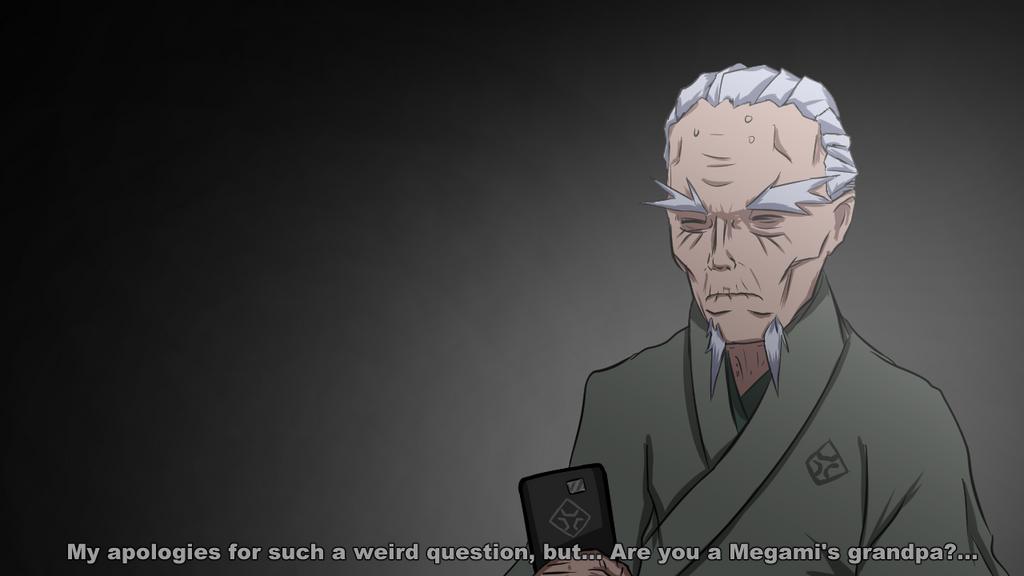 Megami Saikou's grandfather by DarkRavenDemon