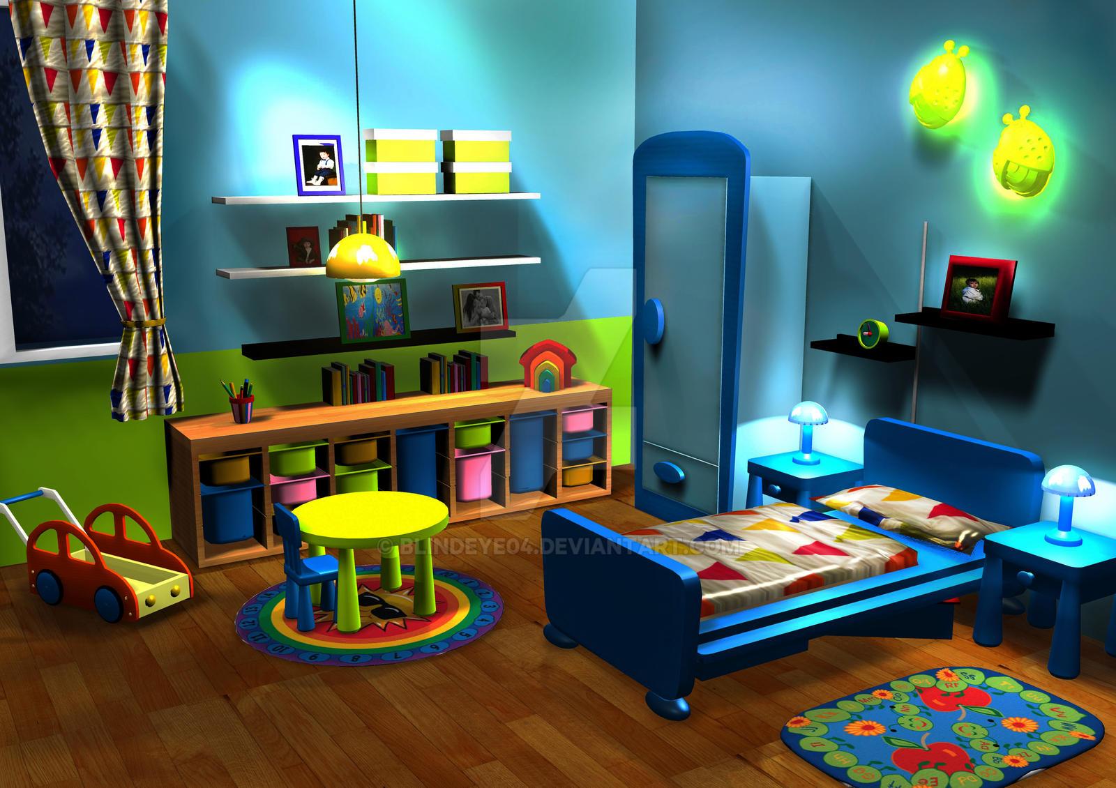 :.:3D Baby Boy's Room:.: