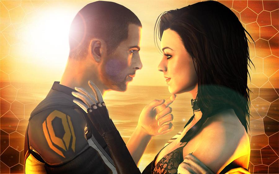 Mass Effect The Showdown by TruePrince