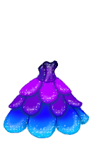 Sparkle petal gown Female by tropical395