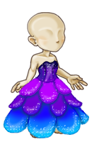 Sparkle petal gown male2 by tropical395
