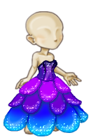 Lily Petal Gown (F) by tropical395