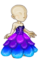 Lily Petal Gown (M) by tropical395