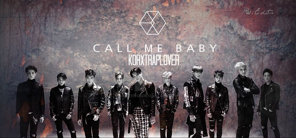 CALL ME BABY -  EXO GRUNGE STYLE EDIT by KateW49
