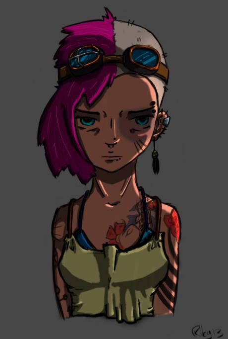 Punk by BobTheVirus