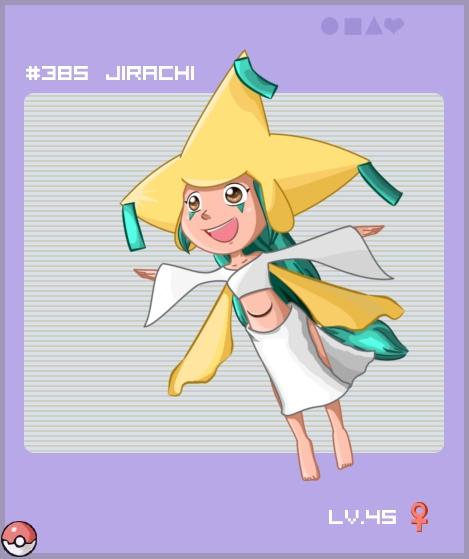 Jirachi Gijinka by Miss-Panettone
