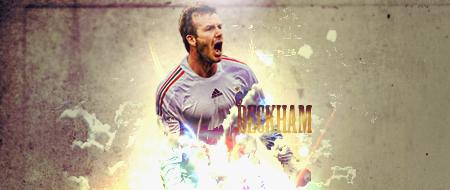 David Beckham Signature by sidthekid871