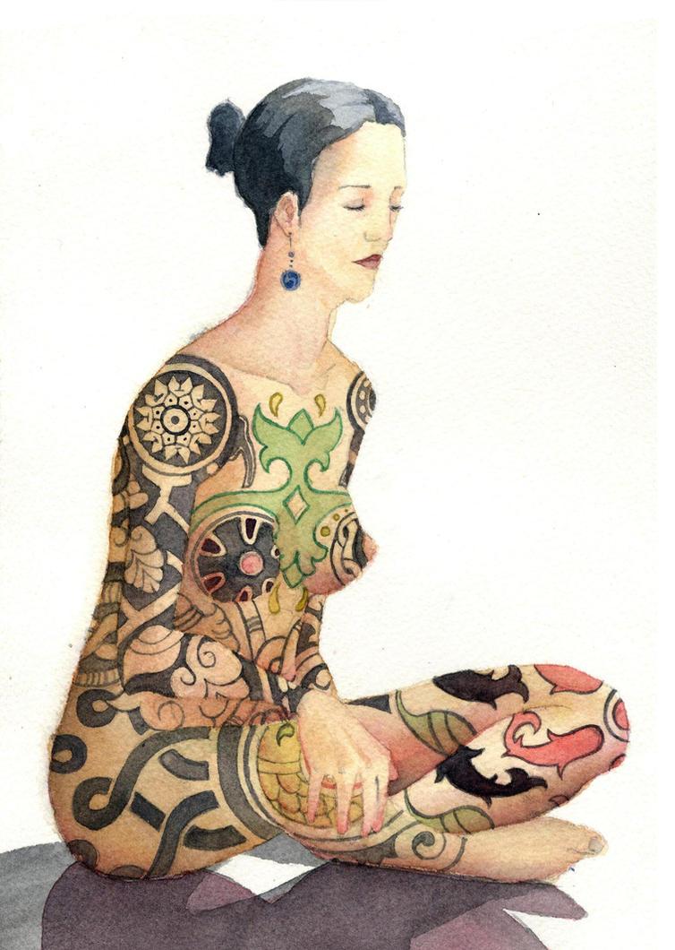 Islamic Tattoo by ars-aeternast
