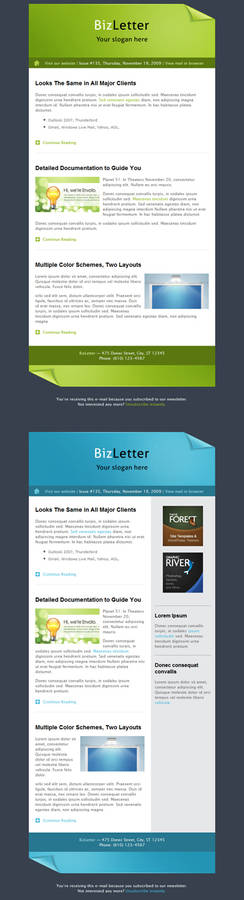 BizLetter - E-mail Template