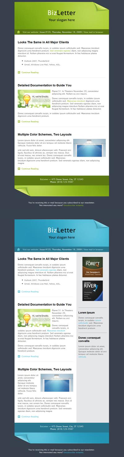 BizLetter - E-mail Template by m-biz