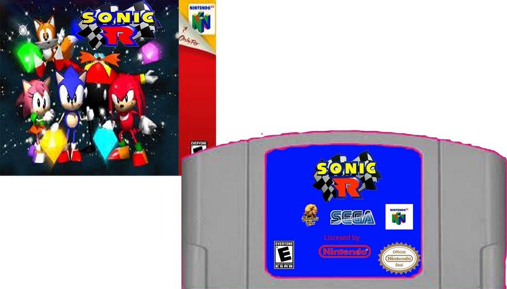 Sonic R for Nintendo 64 by MrYoshi1996 on DeviantArt