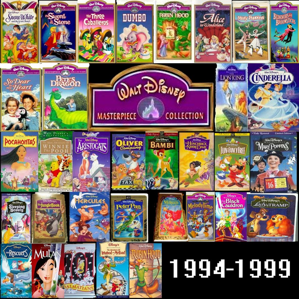 The walt disney masterpiece collection by mryoshi1996 on for House classics list
