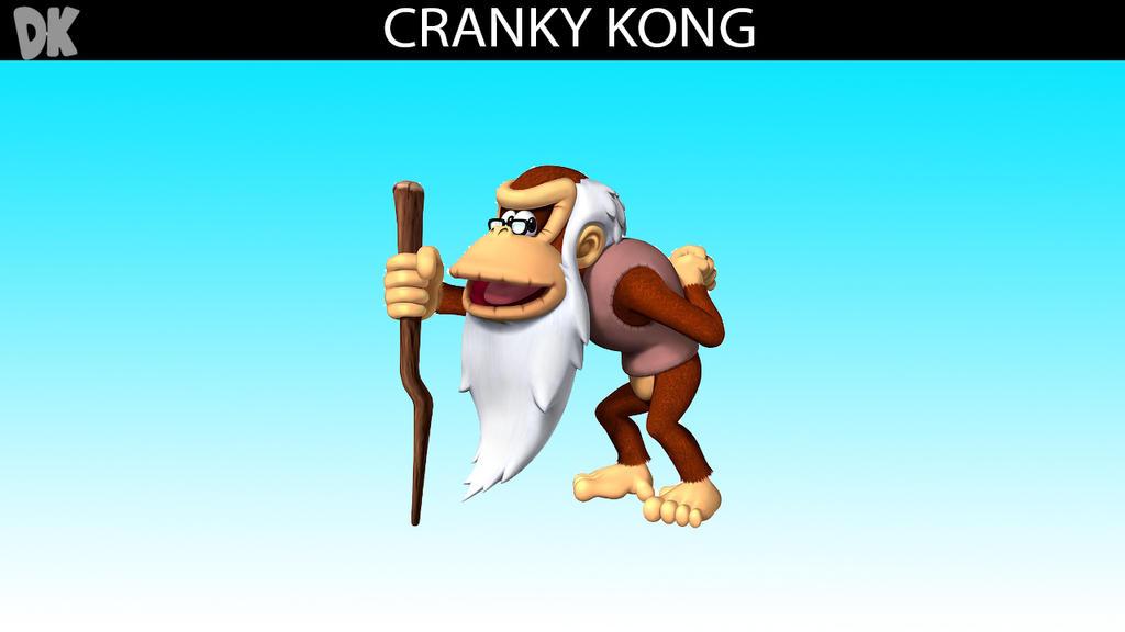 SSB DLC Idea: Cranky Kong by MrYoshi1996 on DeviantArt