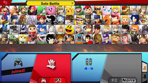 Random Smash Roster #21 by MrYoshi1996