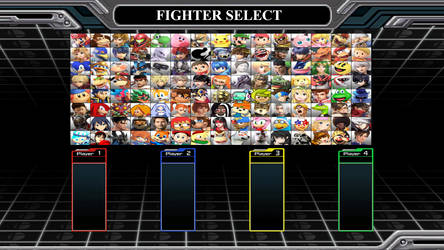 Random Smash Bros Roster #51 by MrYoshi1996