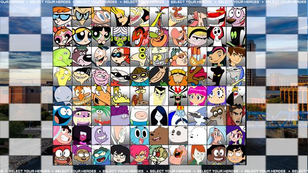 Cartoon Network Super Showdown Roster by MrYoshi1996
