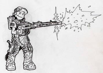 KF Character Wild Gunners by NapalmBonerfart