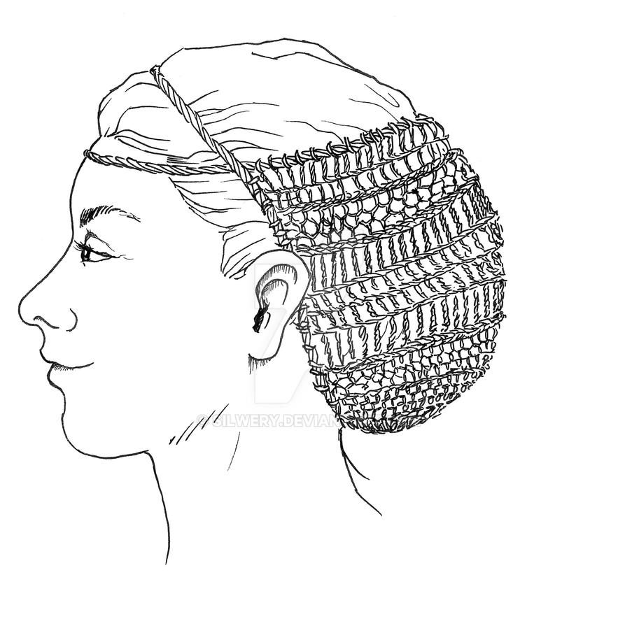 Bronze Age Hair-net by Silwery