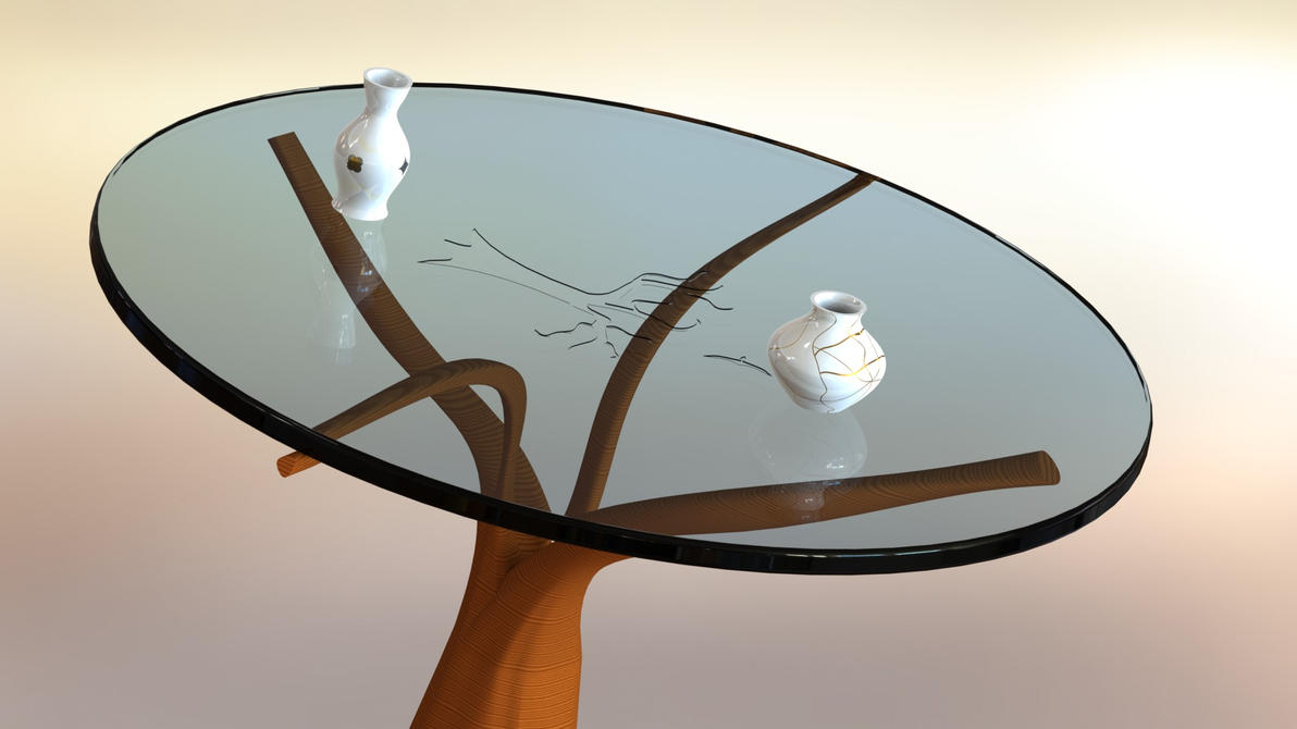 Table with vases `` by free-gamer4ever