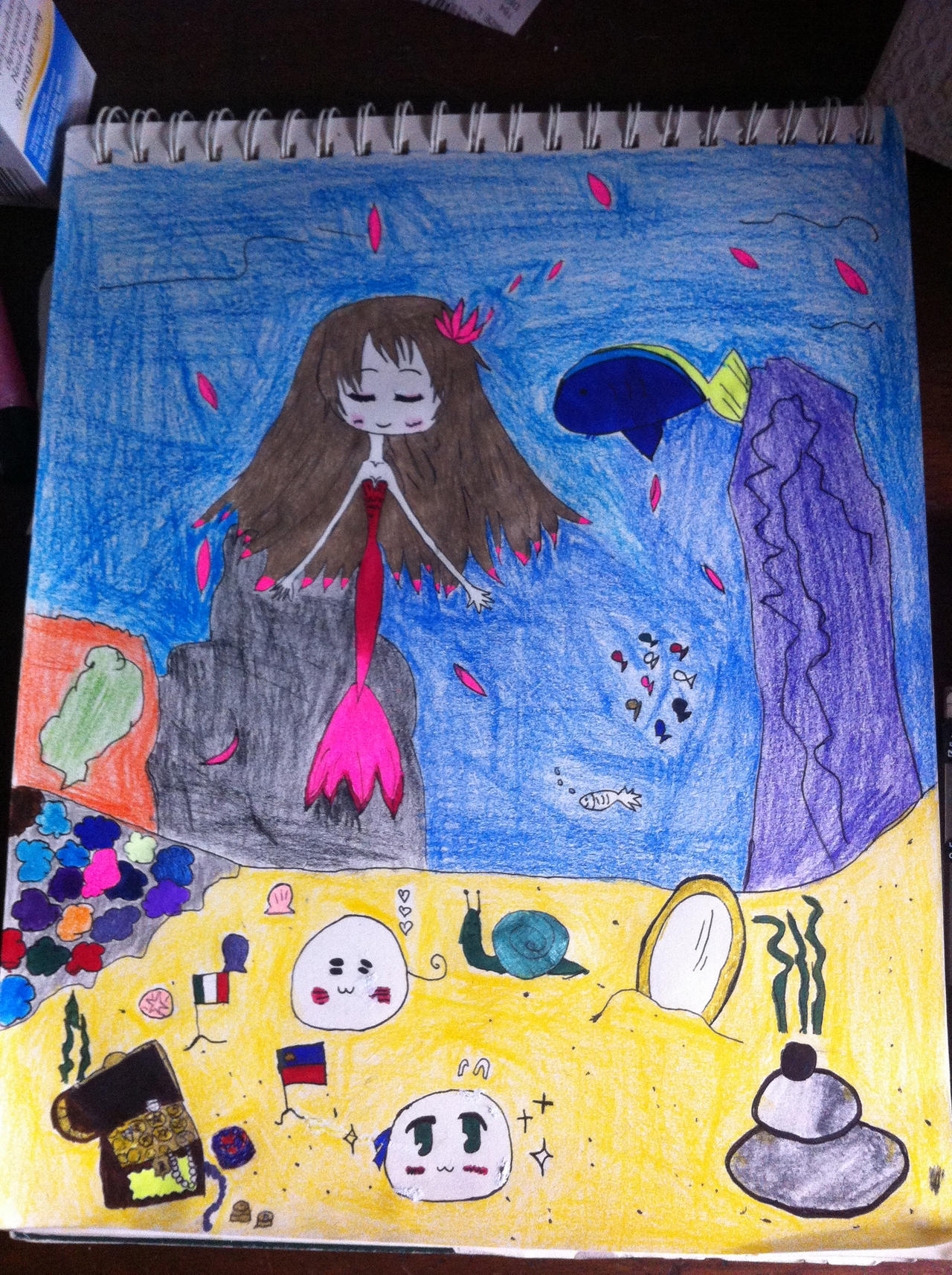 My home under the sea by Whitelili123 by Whitelili123