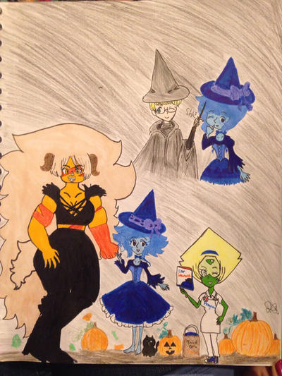 Happy Late Halloween!! by Whitelili123