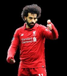 [Render001] Mohamed Salah  - Liverpool FC by Edgina36
