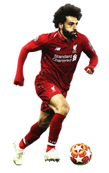 [Render002] Mohamed Salah  - Liverpool FC by Edgina36