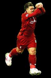 [Render003] Roberto Firmino  - Liverpool FC by Edgina36