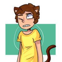 Rick n Morty: Cat Morty by K-Craig