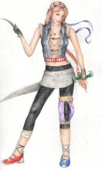 My Final Fantasy Character