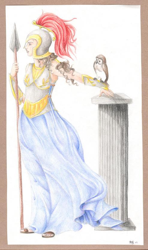 Athena by rinabina123