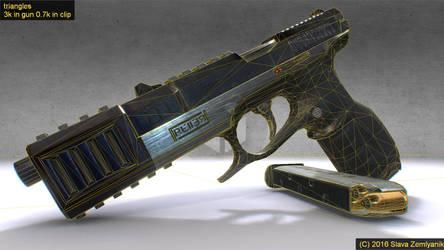 Something like 9mm gun by DesperadoR13