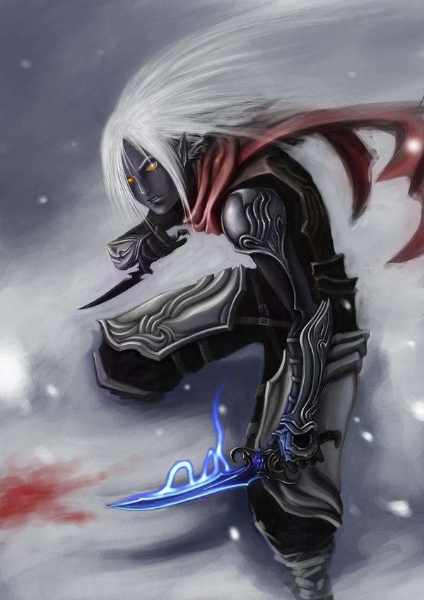 Boreal Elves Dark_elf_by_akakuma