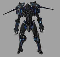 Robot concept by akakuma
